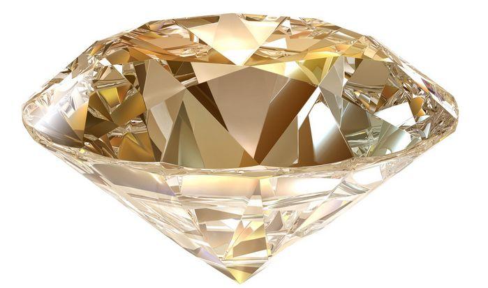 与石墨相同组成元素的钻石光泽度